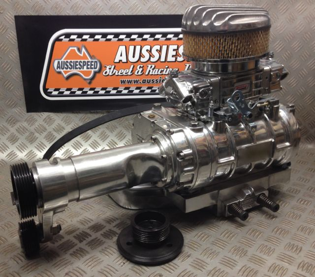 Aussiespeed Holden 186, 202, 6 Weiand Supercharger Kit