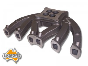 as0199 4 barrel slant six manifold